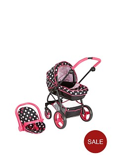hauck-pink-lady-doll-georgia-6-in-1-travel-system