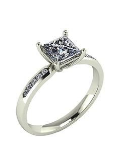 moissanite-9-carat-gold-115pt-square-brilliant-ring-with-stone-set-shoulders