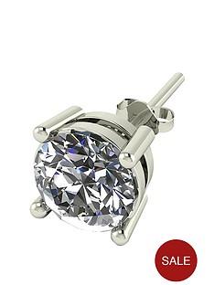 moissanite-9-carat-gold-1-carat-solitaire-mens-earring