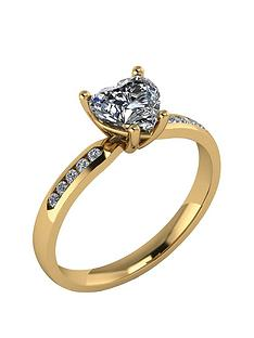 moissanite-9-carat-gold-110pt-heart-shaped-ring-with-stone-set-shoulders