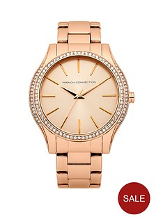 french-connection-maiden-stainless-steel-rose-tone-bracelet-ladies-watch