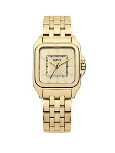 oasis-gold-tone-ladies-watch
