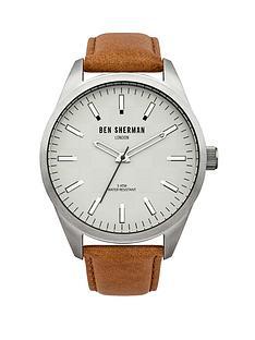 ben-sherman-white-dial-brown-leather-strap-mens-watch