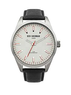ben-sherman-white-dial-black-leather-strap-mens-watch