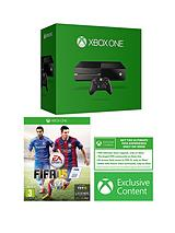 Console with FIFA 15, Headset and Optional 3 or 12 Months Xbox Live