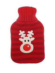 rudolph-christmas-hot-water-bottle-red