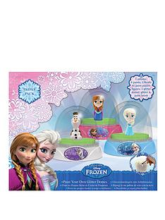 disney-frozen-glitter-dome-3-pack