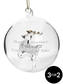 personalised-reindeer-glass-christmas-tree-bauble