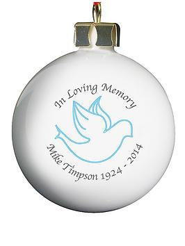 personalised-in-loving-memory-bauble