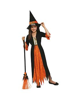 halloween-girls-gothic-witch-child-costume