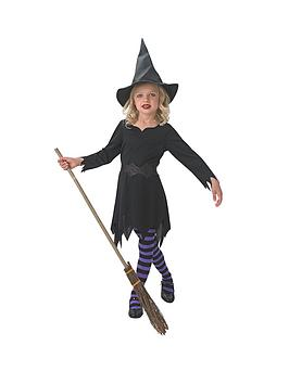 halloween-girls-black-sorceress-witch-child-costume