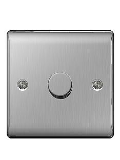 british-general-brushed-steel-400-watt-1g-dimmer