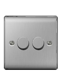 british-general-brushed-steel-400-watt-2g-push-dimmer