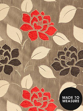 made-to-measure-belgravia-eyelet-curtains-red