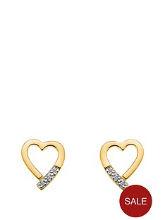 hot-diamonds-18-carat-yellow-gold-plated-sterling-silver-memories-earrings
