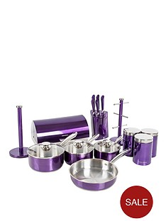 morphy-richards-accent-kitchen-set-plum