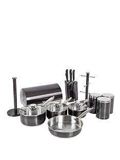 morphy-richards-accent-kitchen-set-black