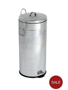 swan-30l-tin-dustbin-stainless-steel
