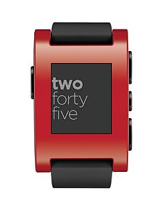 pebble-watch-red