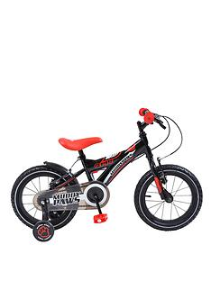 muddypaws-144-14-inch-boys-bike-blackred