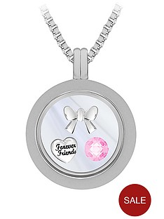 treasure-charms-silver-plated-25mm-polished-charm-locket-on-24-inch-box-chain