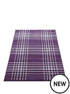 tartan-check-rug-80x150