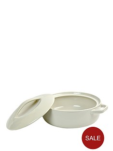 swan-shallow-round-casserole-stone