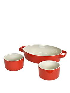 swan-3-piece-oven-to-tableware-3-piece-set-red