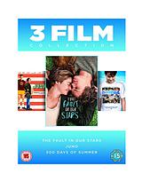 Fault in Our Stars/Juno/500 Days of Summer - DVD Boxset