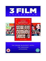 Grand Budapest Hotel/The Sessions/Hitchcock - DVD Boxset