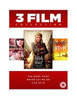 Book Thief/Life of Pi/Never Let Me Go - DVD Boxset