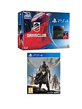 PS4 with Drive Club and Destiny PS4 Game