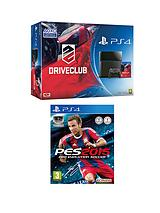 PS4 + Drive Club + Pro Evolution Soccer 2015