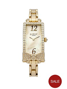 lipsy-gold-tone-stone-set-bow-bracelet-ladies-watch