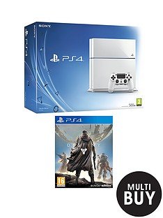 playstation-4-white-console-with-destiny-with-optional-12-months-playstation-plus-and-white-headset