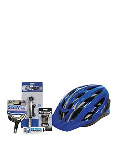 oxford-adult-race-largexl-blue-deluxe-helmet-lock-and-pump-kit