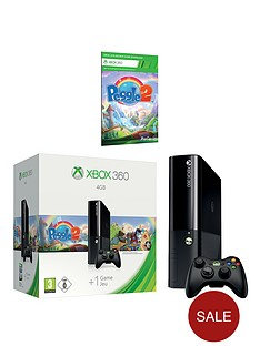 xbox-360-4gb-arcade-console-with-peggle-2-and-optional-3-or-12-months-xbox-live-gold