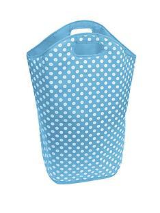 kids-polka-dot-laundry-hamper