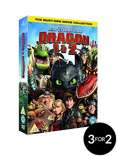 how-to-train-your-dragonhow-to-train-your-dragon-2-dvd