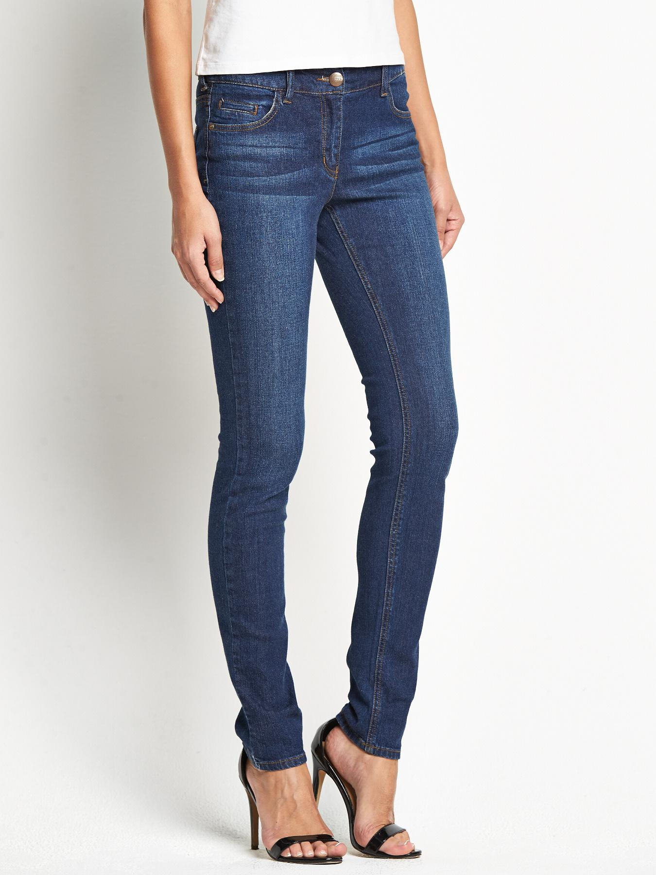 Tall High Rise Molly Skinny Jeans, Black,Indigo
