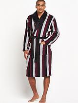 Mens Stripe Gown