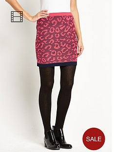 love-label-animal-print-skirt
