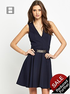 club-l-pendant-skater-dress