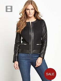 south-leather-twill-mix-jacket