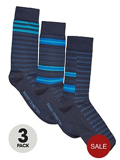 french-connection-mens-stripe-socks-3-pack