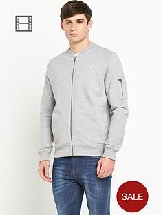 bellfield-mens-zip-through-sweatshirt