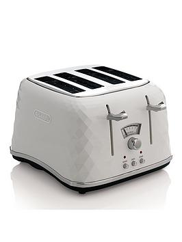 Delonghi   Ctj4003.W Brillante 4-Slice Toaster