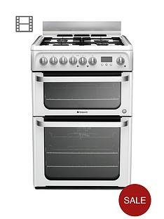 hotpoint-ultima-hud61ps-60cm-dual-fuel-cooker-with-gas-hob-white