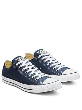 Converse Converse Chuck Taylor All Star Ox Plimsolls - Navy Picture