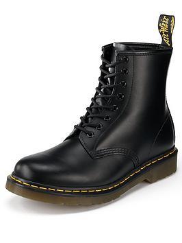 Dr Martens 8 Eyelet Mens Boots  Black